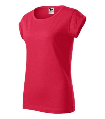 Fusion tričko dámské červený melír S