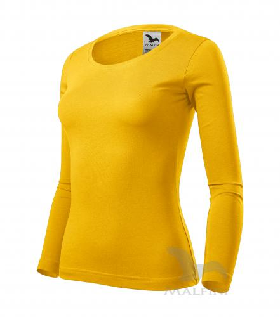 Fit-T LS triko dámské žlutá L