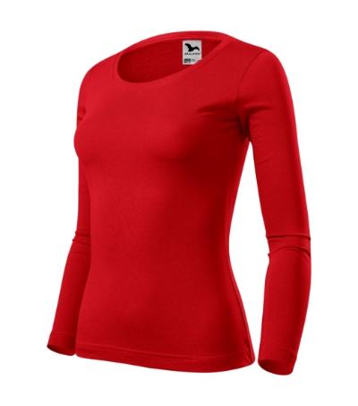 Fit-T LS triko dámské červená L
