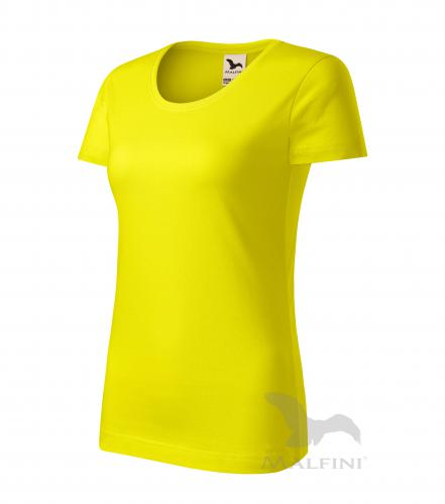 Origin tričko dámské citronová M
