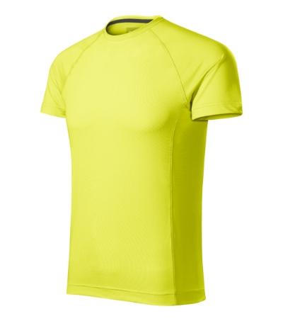 Destiny tričko pánské neon yellow L