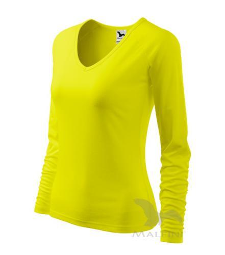 Elegance triko dámské citronová M