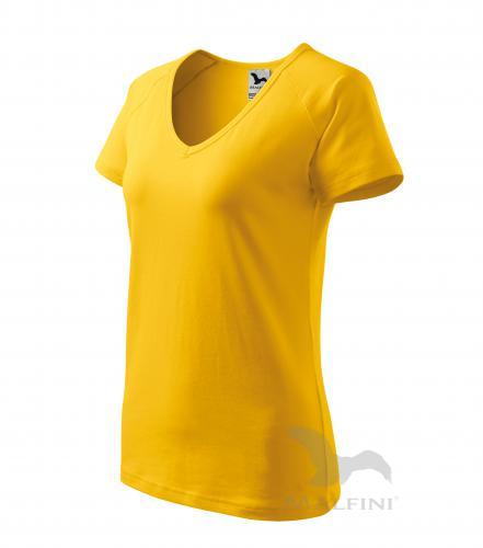Dream tričko dámské žlutá XS