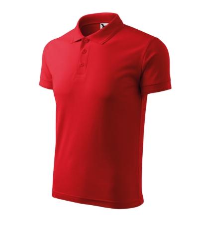 Polokošile Pique Polo 200 červená XL