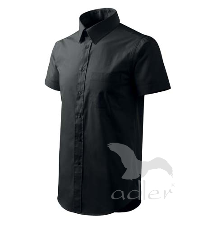 Košile pánská Shirt short sleeve černá M