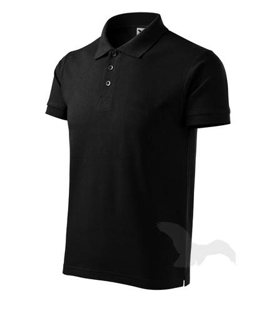 Polokošile pánská Cotton černá XL