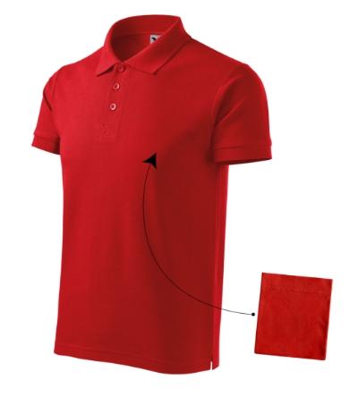 Polokošile pánská Cotton červená S