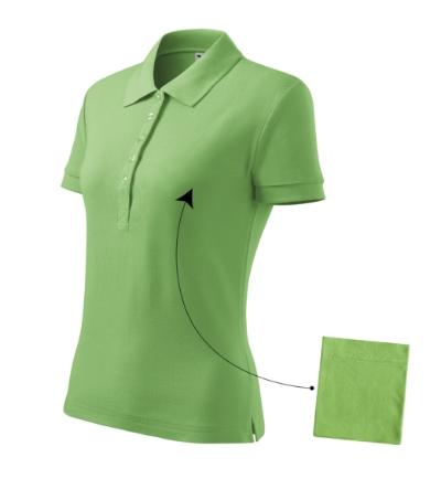 Polokošile dámská Cotton trávově zelená S