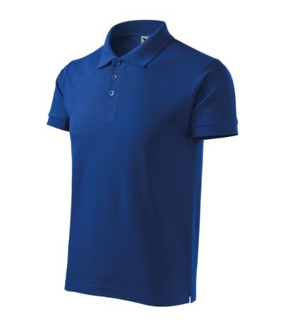 Polokošile pánská Cotton Heavy královská modrá 3XL