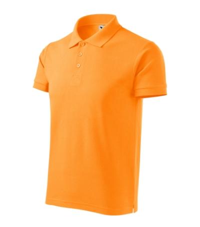 Cotton Heavy polokošile pánská tangerine orange L