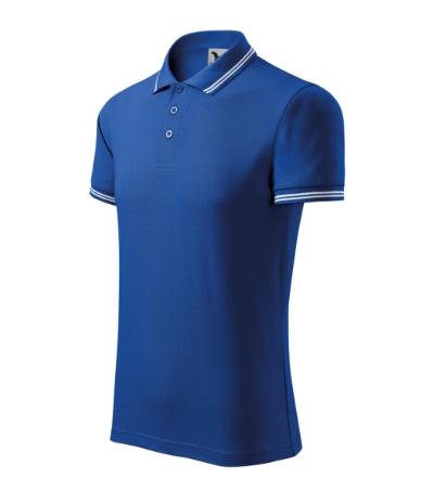 Polokošile pánská Urban královská modrá/bílá XL