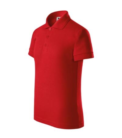 Pique Polo polokošile dětská červená 134 cm/8 let