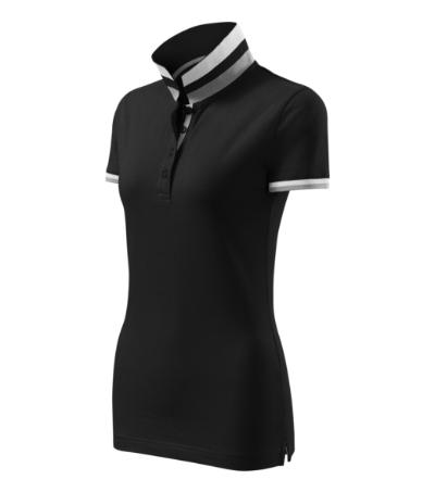 Collar Up polokošile dámská černá XS