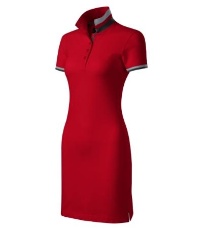 Dress up šaty dámské formula red M