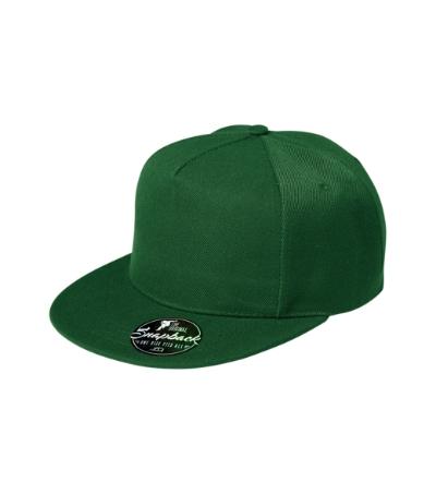 Rap 5P čepice unisex lahvově zelená nastavitelná