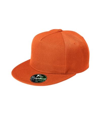 Rap 5P čepice unisex oranžová nastavitelná