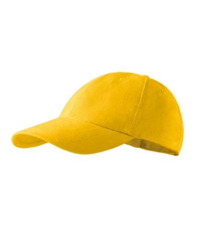 Čepice 6P žlutá