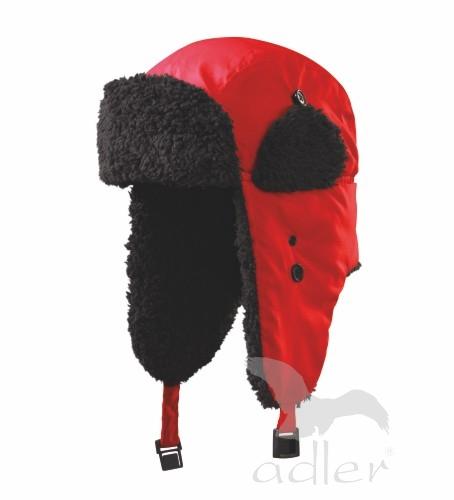 Čepice Furry červená S
