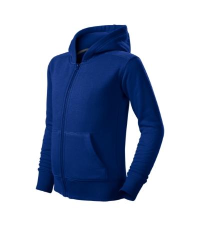 Trendy Zipper mikina dětská královská modrá 134 cm/8 let