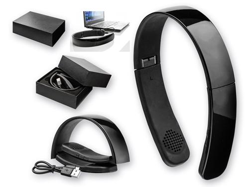 GENUINE - plastová bluetooth audio sluchátka