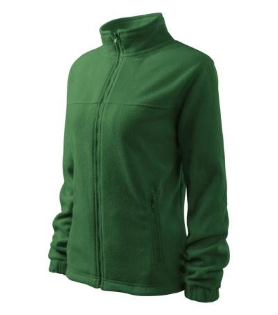 Dámský Fleece Jacket lahvově zelená L
