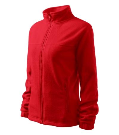 Jacket fleece dámský červená S