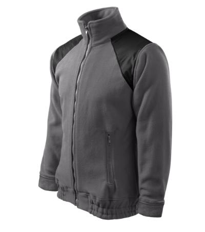 Fleece Unisex Fleece Jacket Hi-Q ocelově šedá XL