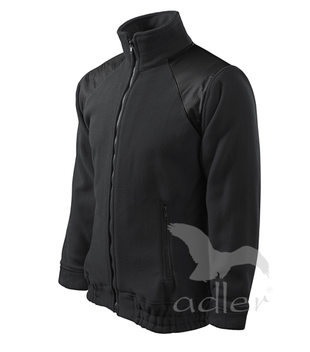 Unisex Fleece Jacket Hi-Q ebony gray S