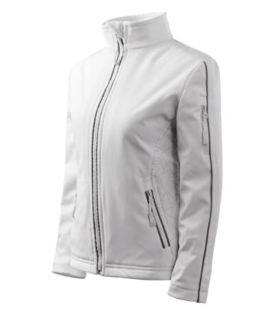 Bunda dámská Softshell Jacket bílá M