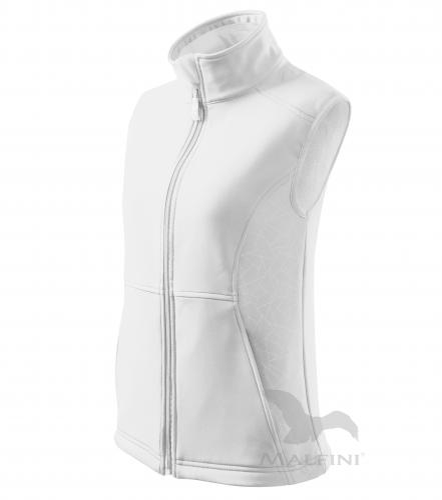 Vision softshellová vesta dámská bílá L