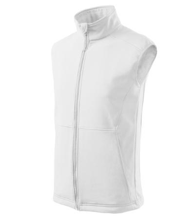 Vision softshellová vesta pánská bílá 3XL