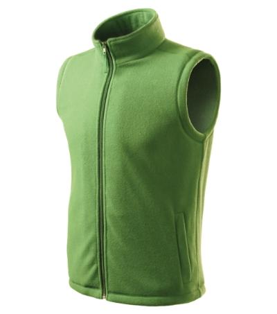 Unisex Fleece Vesta Next trávově zelená XXL