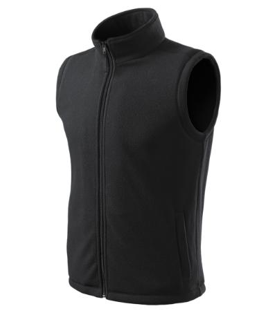 Unisex Fleece Vesta Next ebony gray XL