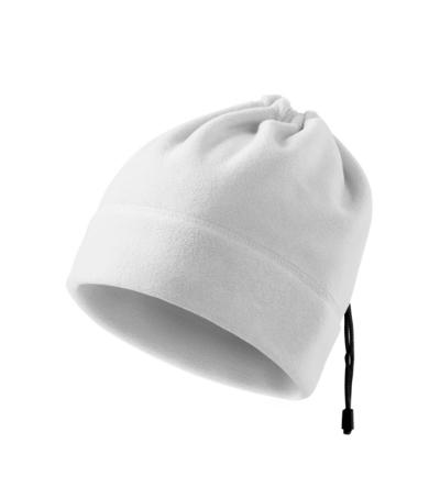 Unisex fleece čepice Practic bílá