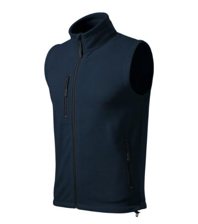 Exit fleece vesta unisex námořní modrá M