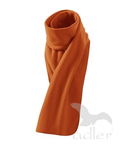 Šála Scarf New oranžová 155 x 25 cm