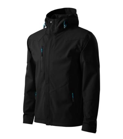 Nano softshellová bunda pánská černá S