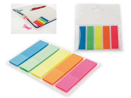 MISU - barevné lepící lístky (25ks/barva)