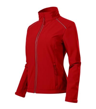 Valley softshellová bunda dámská červená S