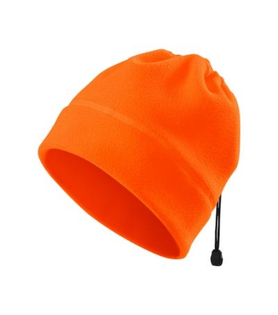 HV Fleece Čepice Practic reflexní oranžová