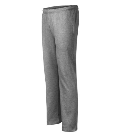 Tepláky pánské/dětské Comfort tmavě šedý melír L