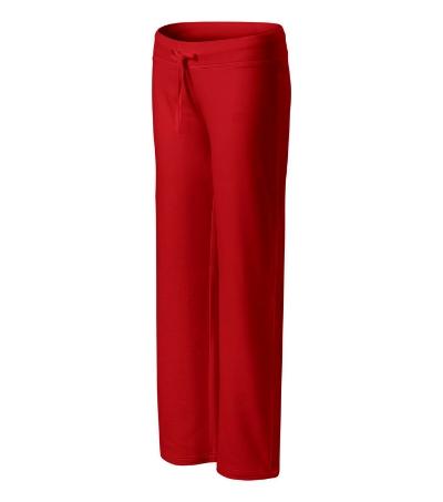 Comfort tepláky dámské červená XL