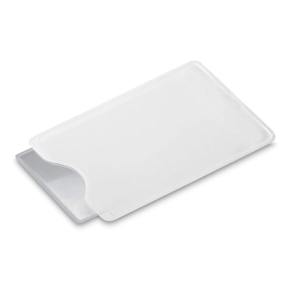 Lupa - Plastová lupa v obalu. 90 x 65mm