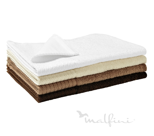 Malfini Bamboo Golf Towel mandlová 30 x 50 cm