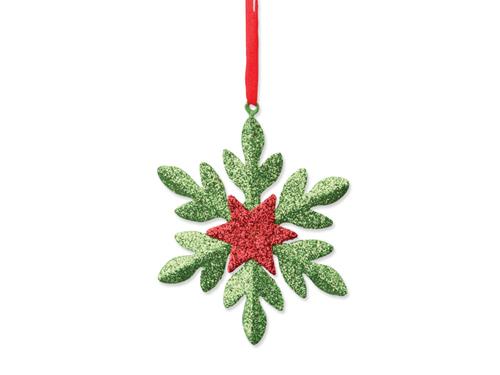 SNOWFLAKE - vánoční ozdoba, sněhová vločka