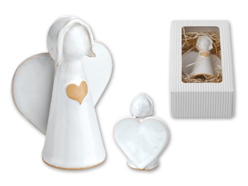 ANGELITO - Keramická ozdoba vdárkovém balení.
