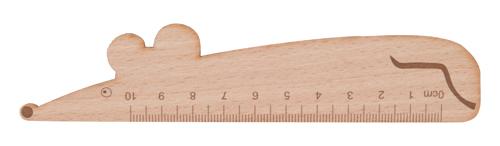 Looney dřevěné pravítko