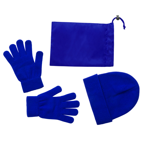 Duvel sada rukavice a čepice