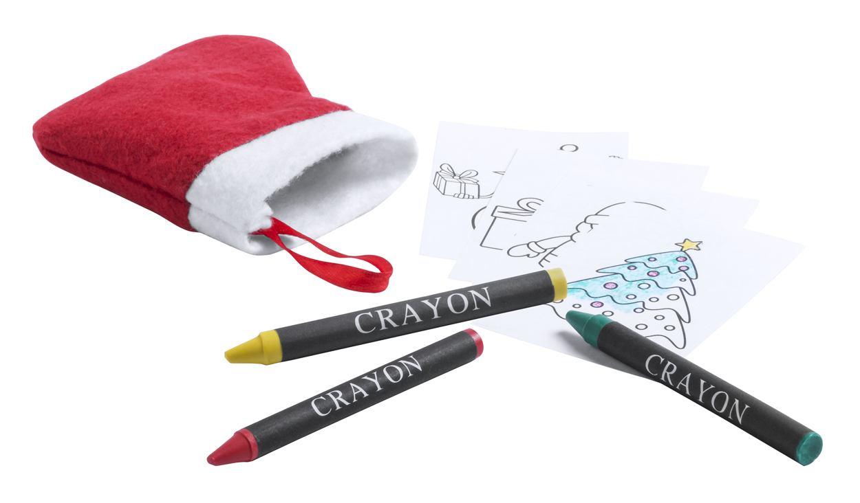 Princox vánoční omalovánky