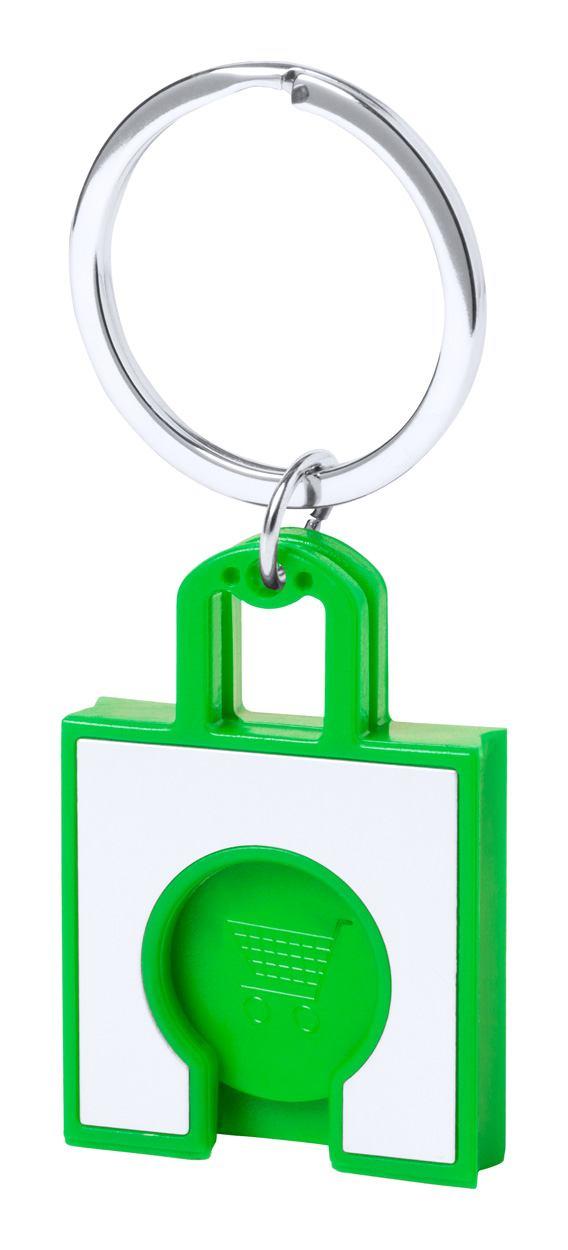 Fliant přívěšek na klíče se žetonem